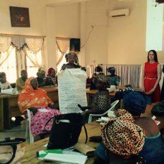 Malinese vrouwen trainen in politiek campagne voeren